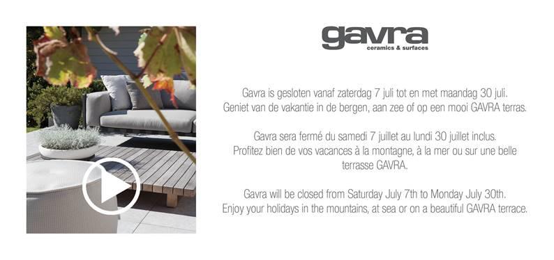 GAVRA summer vacation 2018